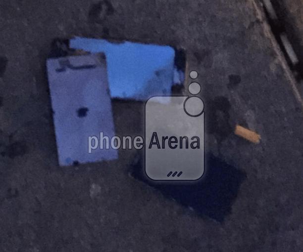 Burnt iPhone
