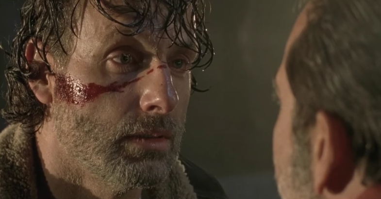 The Walking Dead 7 Negan's Victim