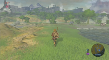Zelda: Breath of the Wild Gameplay