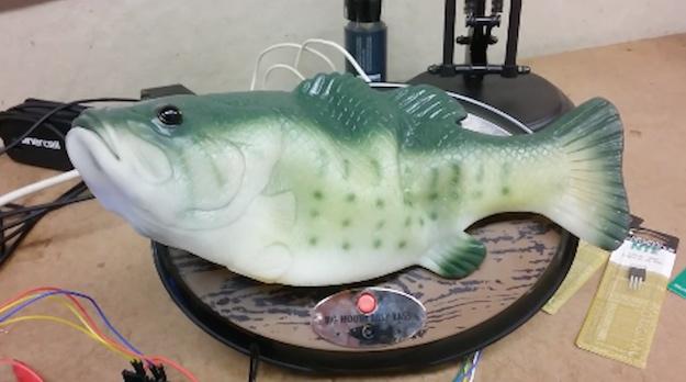 Amazon Echo Big Mouth Billy Bass