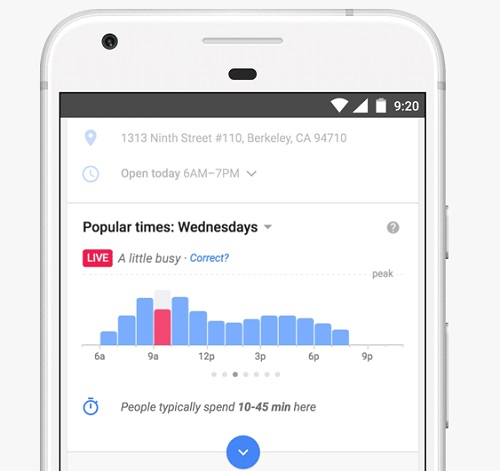google-busy-real-time