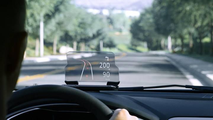 Smartphone Hud Car Projector