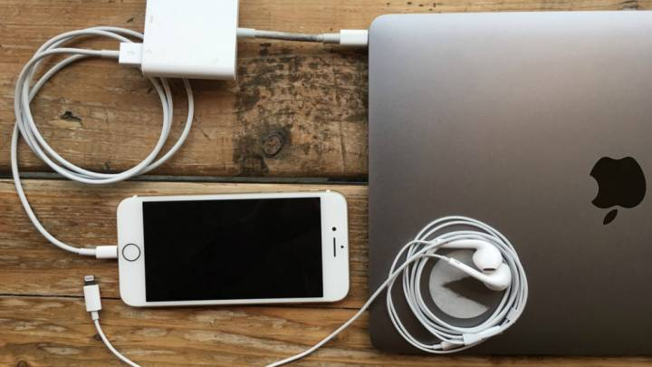 iPhone and MacBook Adapters