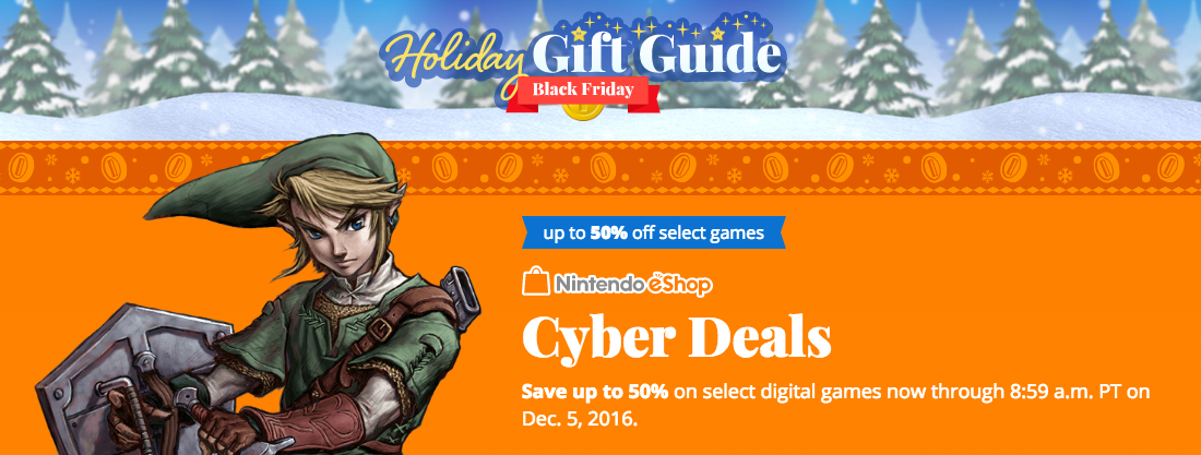 Nintendo Black Friday Deals