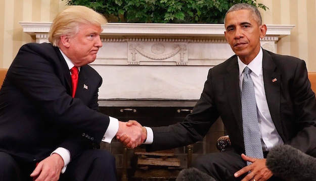 Donald Trump Vs Obama Photo
