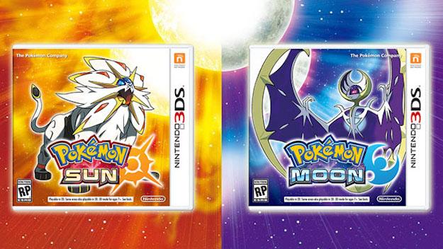 Pokemon Sun and Moon on Nintendo Switch