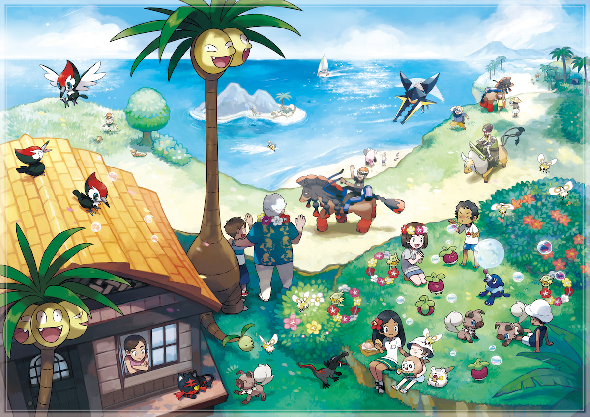 Pokemon Sun Pokemon Moon Review