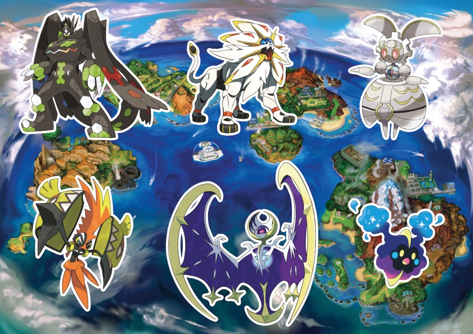 Pokemon Sun And Moon Guide: How To Catch Every Legendary Pokemon