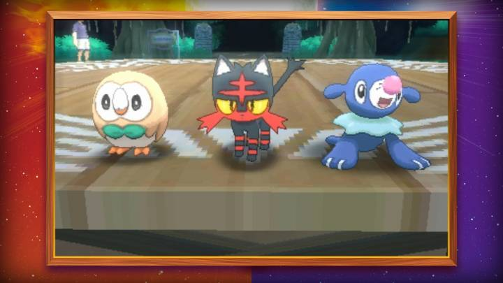 Pokemon Sun and Moon Shiny Starters