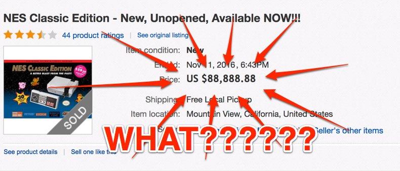 nes classic edition ebay