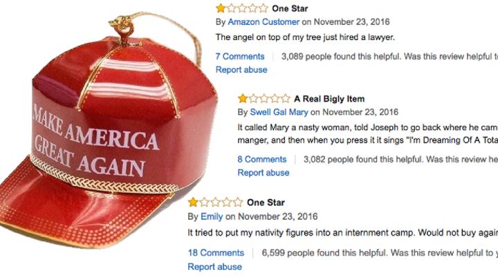 trump ornament