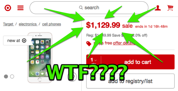 Warning: Target's Black Friday 'sale' on the iPhone is a ...