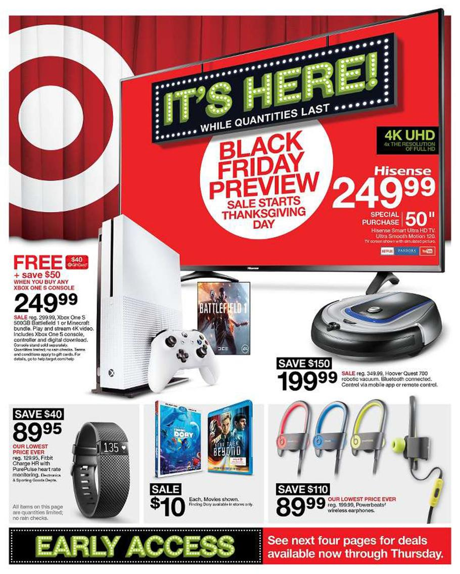 Kitchenaid Black Friday 2016 Walmart: Target Black Friday 2016 Ad Leaks: Huge IPhone 7, Xbox One