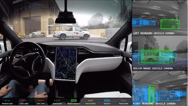 Tesla Autopilot Video