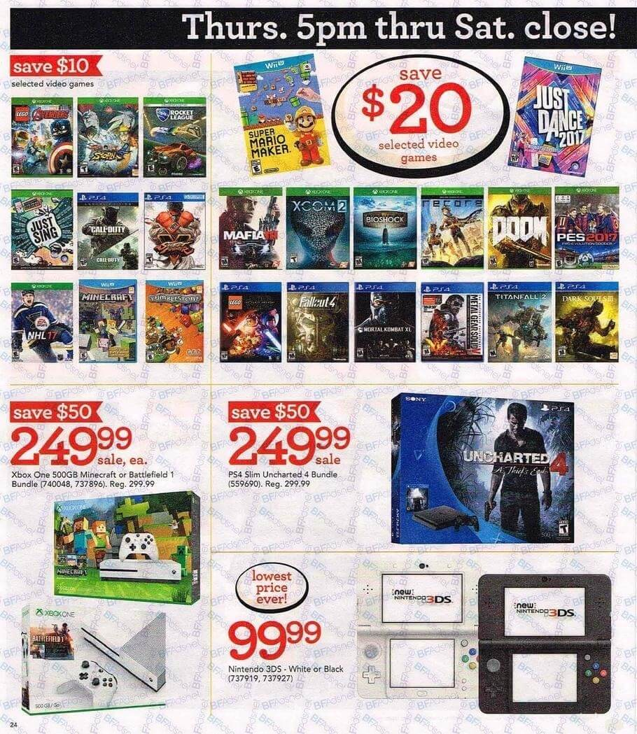 Toys R Us Games : Toys r us black friday ad huge sales on video games