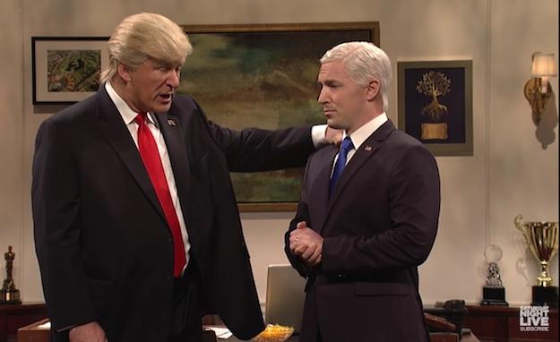 SNL Trump Skit