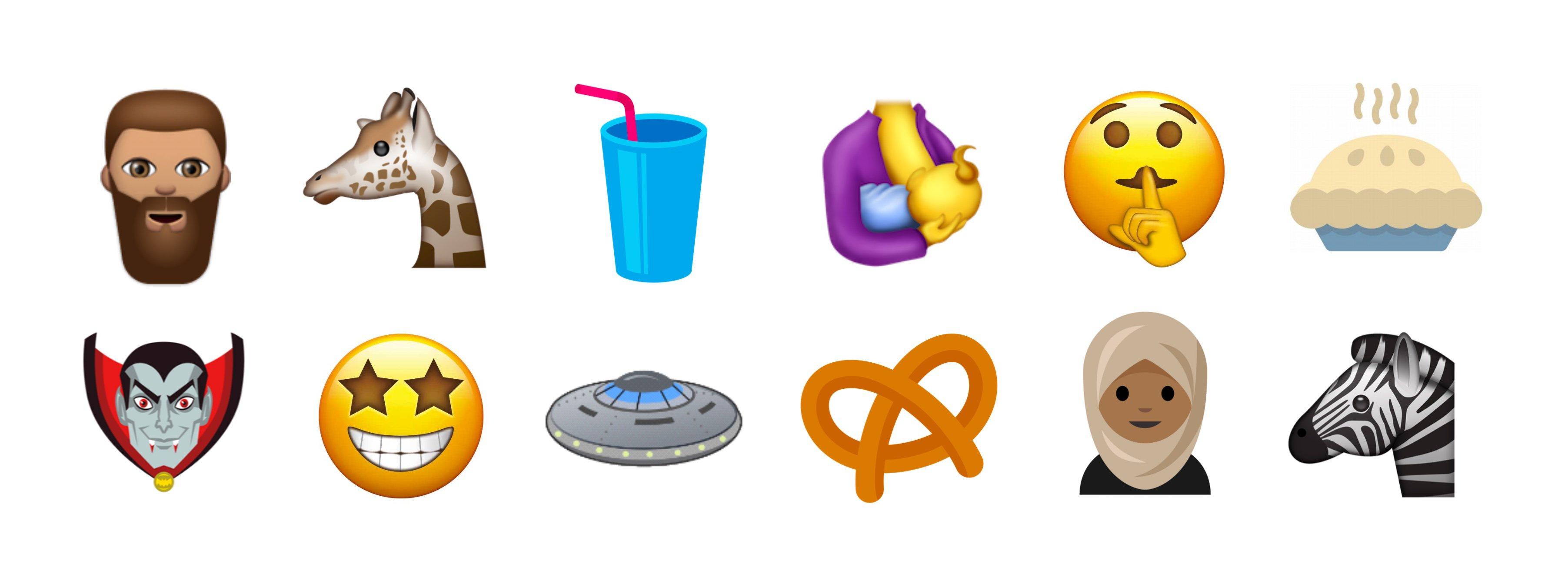 New Emoji Unicode 10