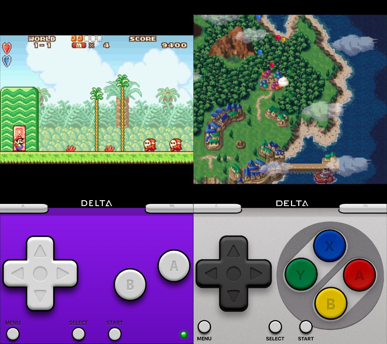 delta-emulator-games