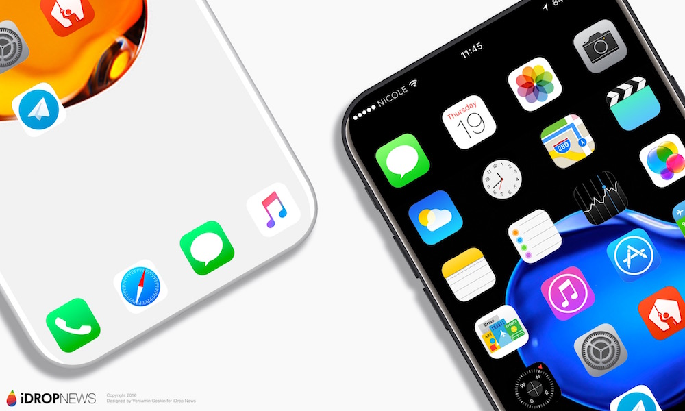 Iphone 8 Release Date Behold: The edgeless i...