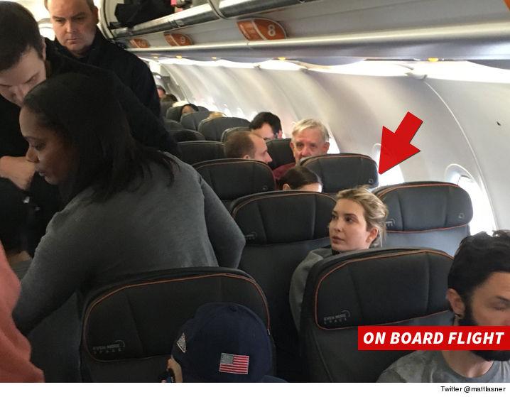 ivanka-trump-jetblue-passenger