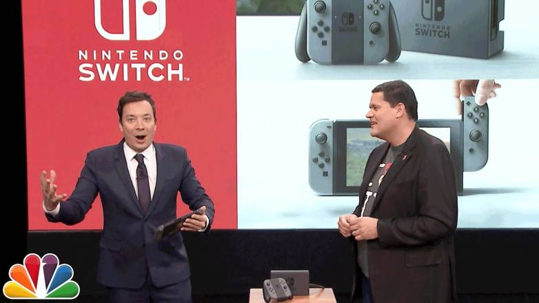 Jimmy Fallon Super Mario Run Nintendo Switch