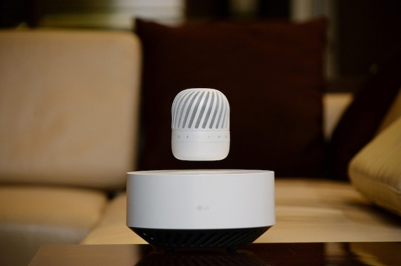 LG To Bring Futuristic Levitating Bluetooth Speaker To CES 2017