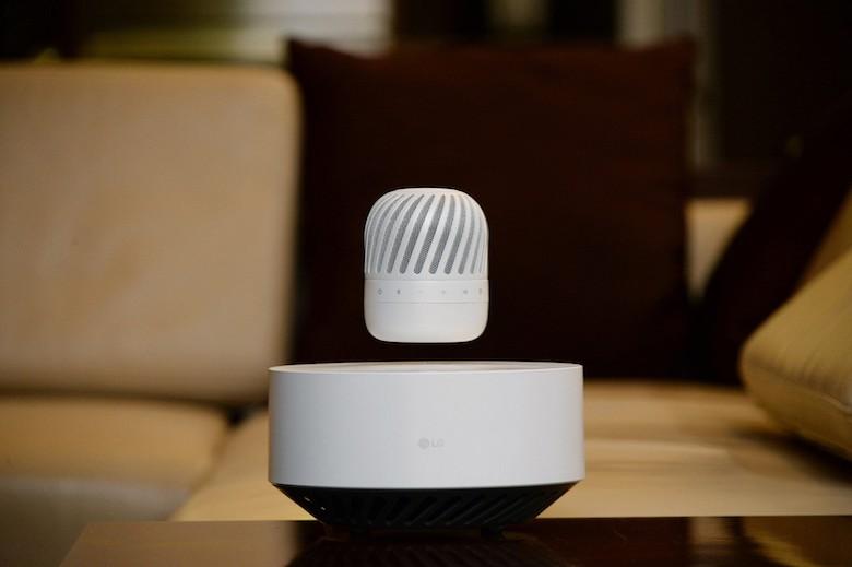 LG To Bring Futuristic Levitating Bluetooth Speaker To CES 2017