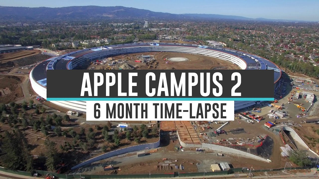 Apple Campus 2 video