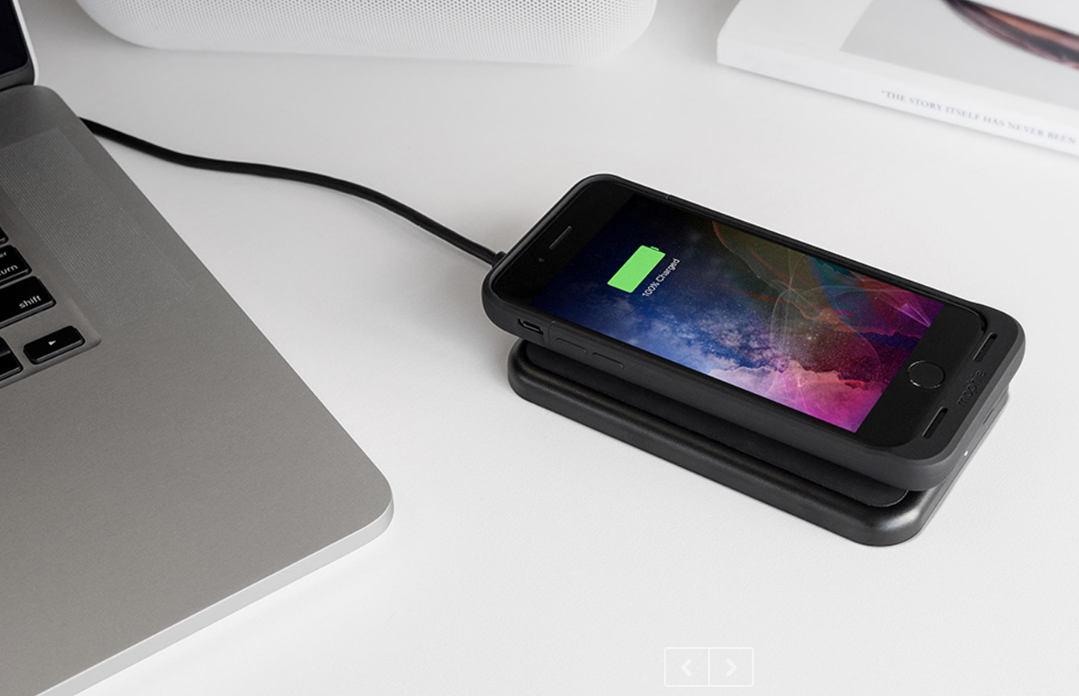 Mophie S First Iphone 7 And 7 Plus Battery Cases Feature Wireless Charging Tech Bgr Чехол smart battery case для iphone 11 pro. iphone 7 and 7 plus battery cases