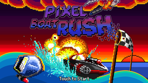 pixel-boat-rush