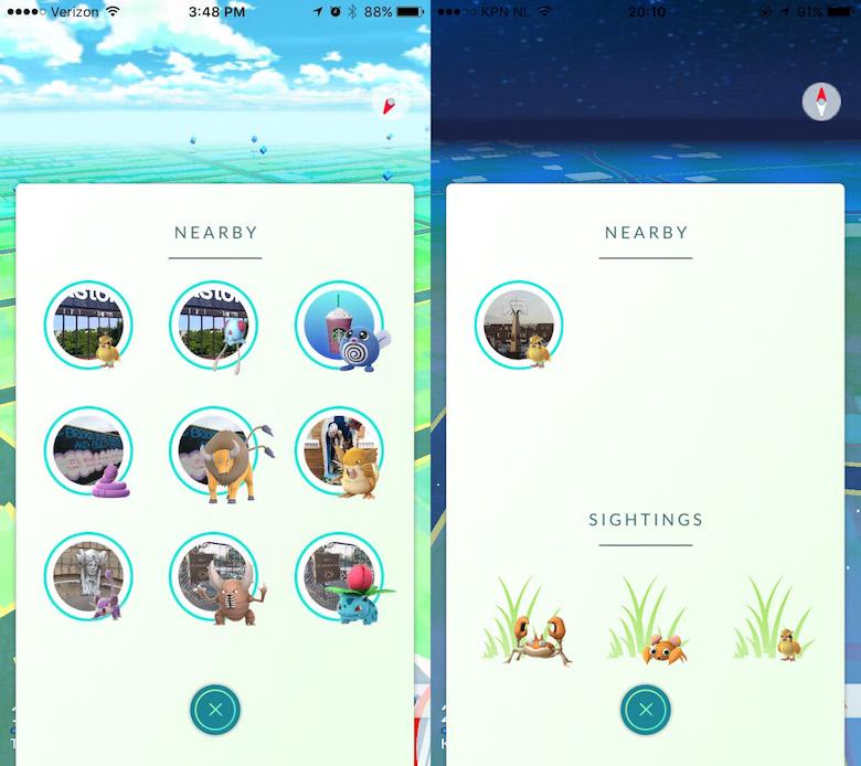 Pokemon Go Nearby Tracker Fix