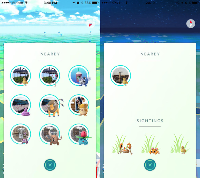 Pokemon Go Nearby Tracker Fix