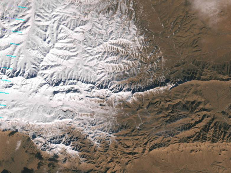 Sahara Snow In Pictures