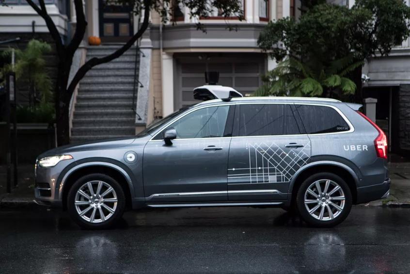 Uber Self-Driving Car Fleet Mercedes