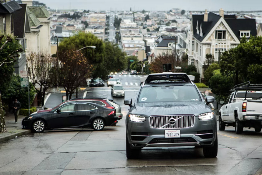 Uber Self-Driving Car Accident