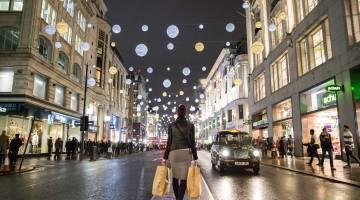 Christmas retail sales