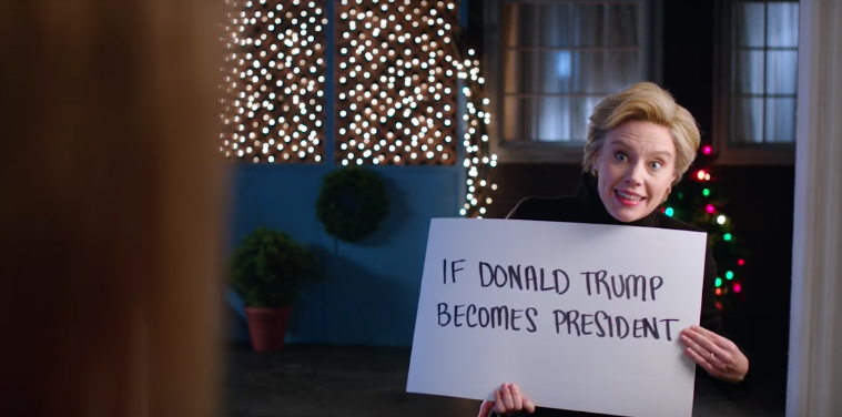 Watch SNL's hilarious 'Love Actually' parody: Hillary ...