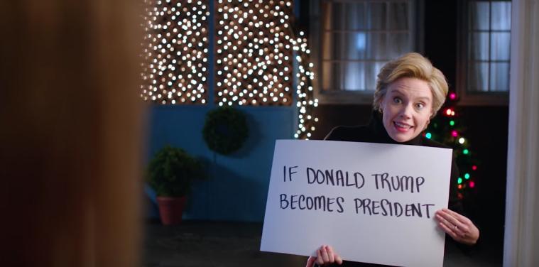 Watch SNL's hilarious 'Love Actually' parody: Hillary ...