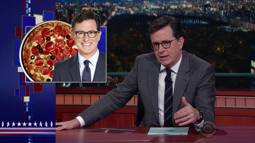 Stephen Colbert Pizzagate Fake News