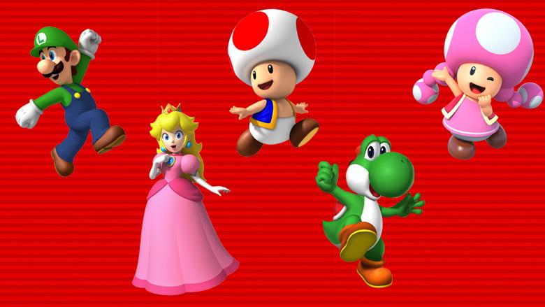 Unlock playable characters Super Mario Run