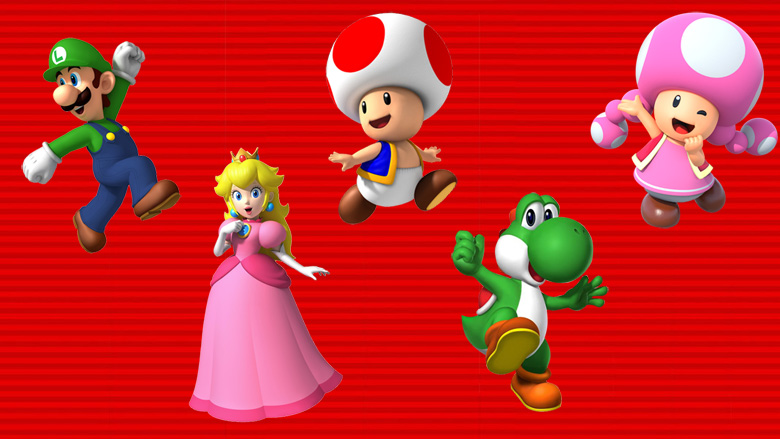 Unlock playable characters Super Mario Run