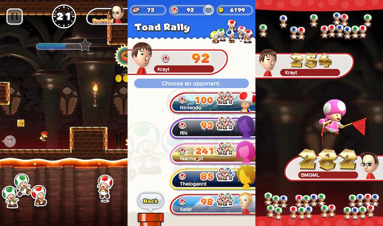 Super Mario Run Loads of Coins