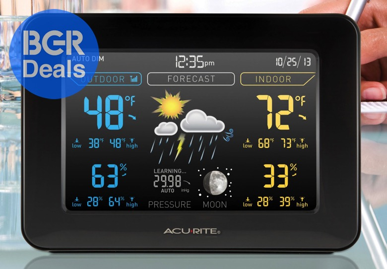 Acurite S Home Weather Station Makes You The Most Accurate