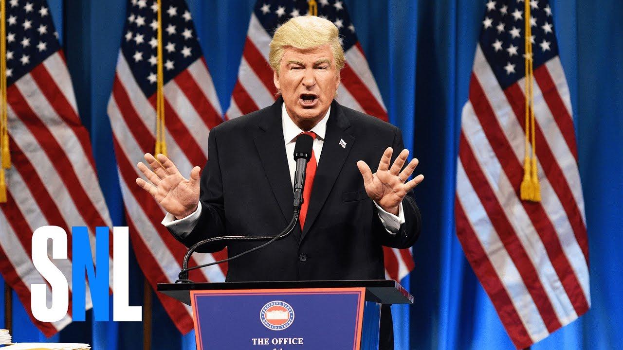 SNL Donald Trump Press Conference