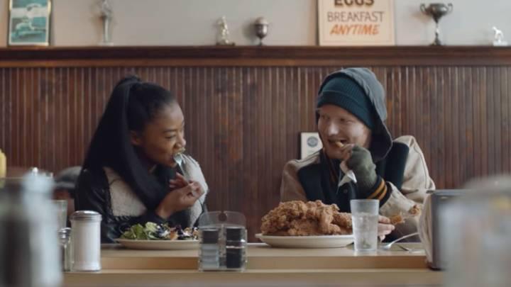 Ed Sheeran's Shape of You Music Video