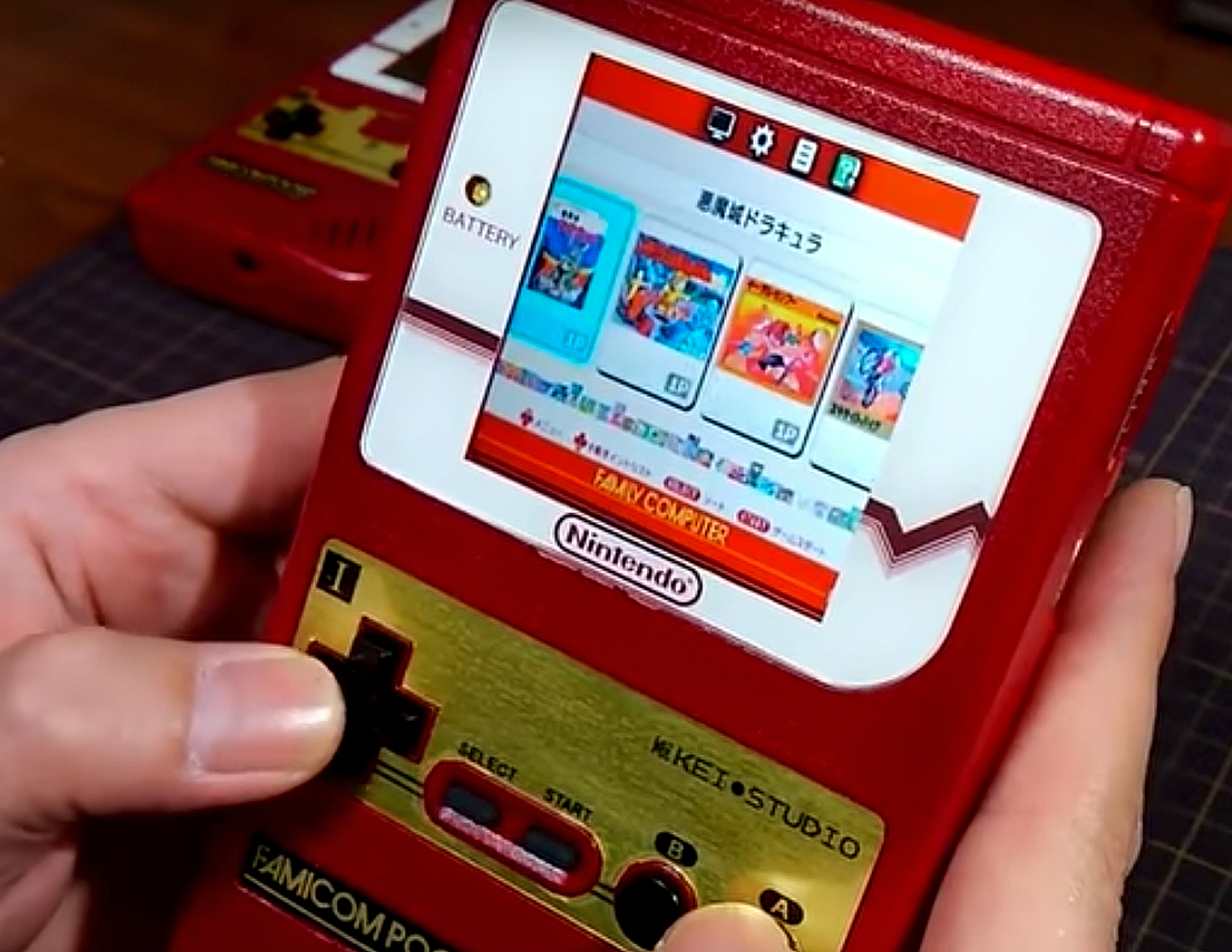 famicom mini game boy
