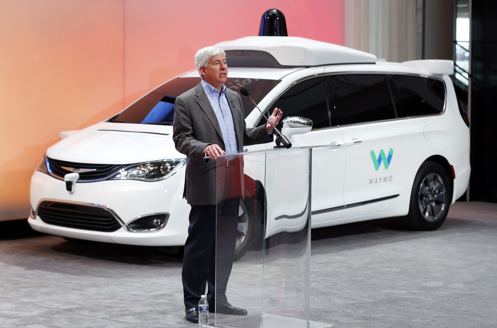 Google Self-Driving Cars Waymo
