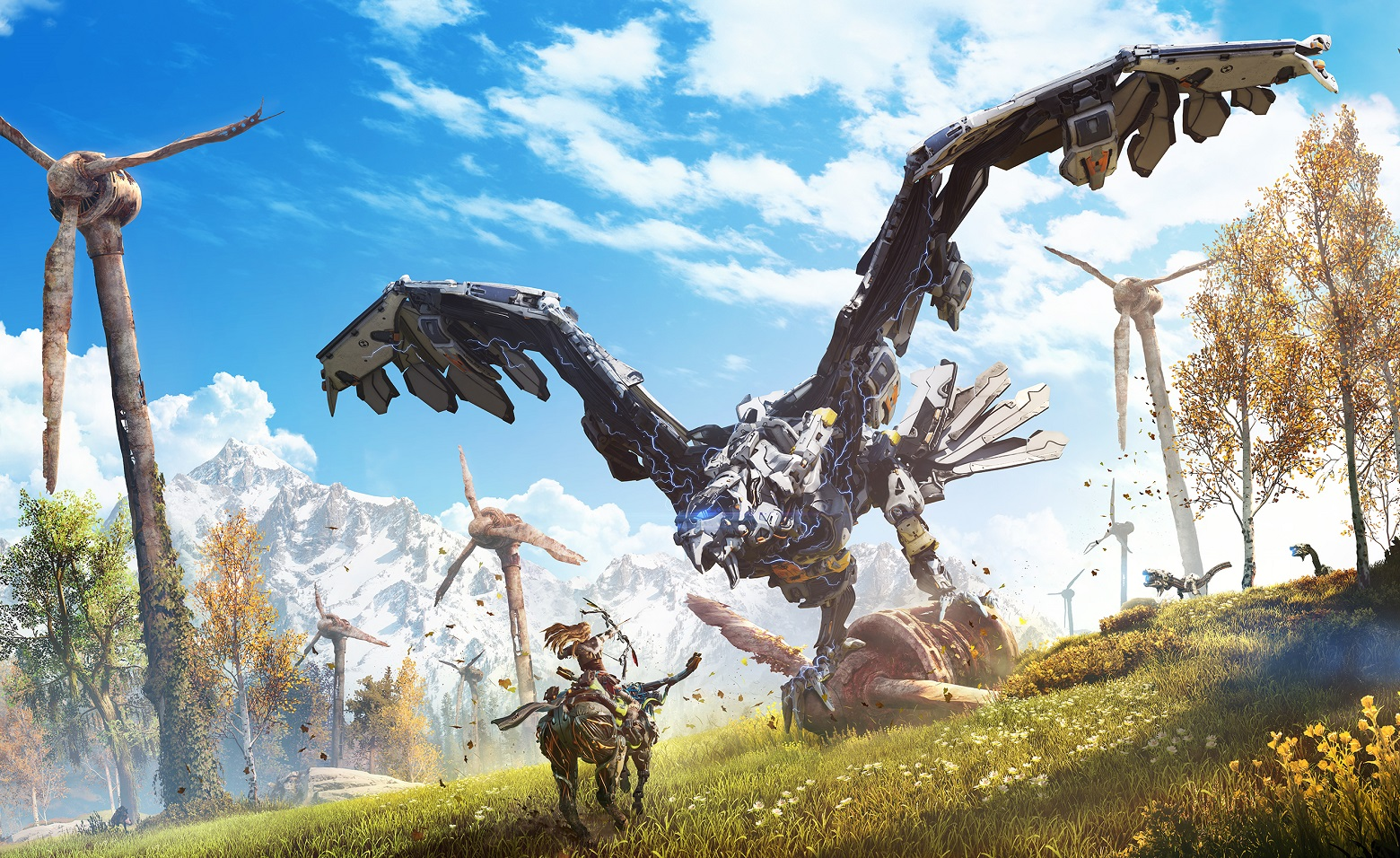 Horizon Zero Dawn hands-on