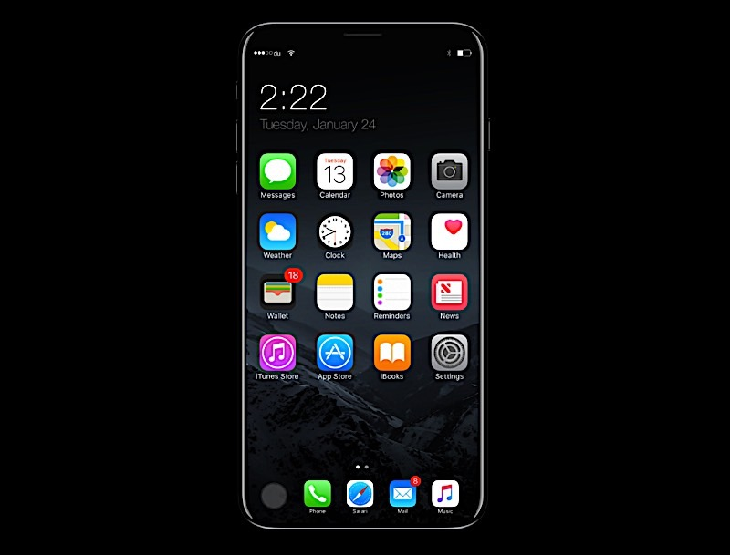 iPhone 8 Rumors Display