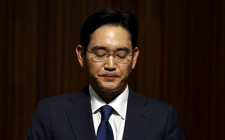 Samsung Chief Jay Y. Lee Arrest